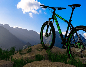 3D Cross-country bicycle