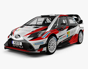 3D Toyota Yaris WRC 2017