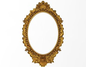 Carved Picture Frame 3D model relief