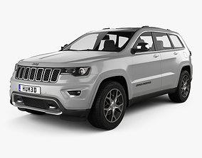 3D model Jeep Grand Cherokee Overland 2018