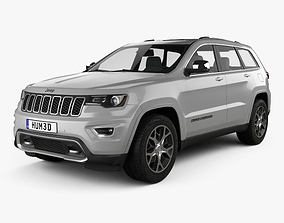 3D model Jeep Grand Cherokee Overland 2018