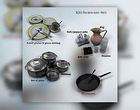 KitchenWare 3D asset