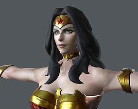 3D asset GALG-001 Wonder Woman