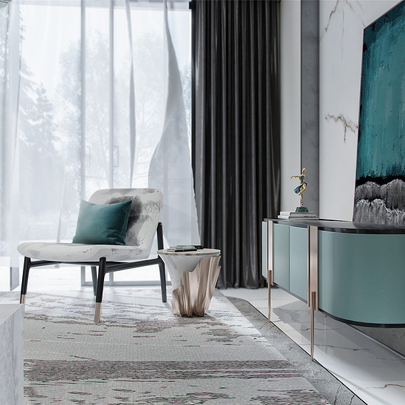 0-1Modern fresh luxury villa