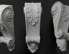 Classical Modillion 3D