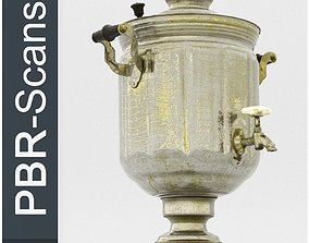 Samovar High Poly 3D model PBR