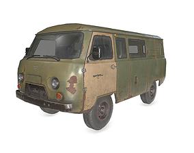 3D asset UAZ 3909