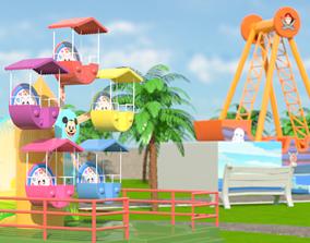 3D Park cartoon
