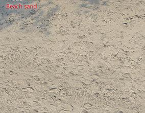 3D model Ultra realistic Beach sand geometry 3