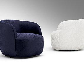 3D CB2 GWYNETH armchair