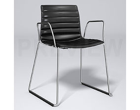 3D model Catifa 46 Leather Chair - Arper