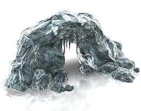3D model Ice cave entrance