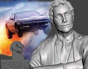 3D printable model Knight Rider Devon Miles by SPARX