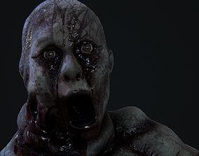 Very creepy Deformed woman 3D model