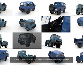 VOLVO LAPLANDER C202 1977 3D Model Collection