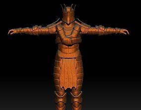 Lautrec Knight Dark Souls T-Pose 3D model