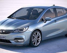 Opel Astra 2020 3D model