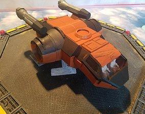 Dart Hopper Light Starship 3D print model