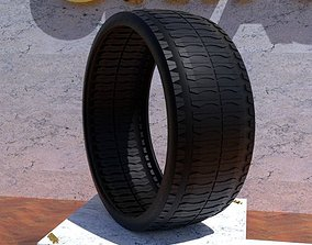 ORTAS TIRE NO 32 GAME READY AND 3D PRINTABLE tyre