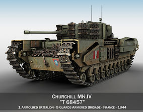 Churchill MK IV - T68457 3D