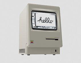 Macintosh 128K 3D model