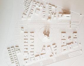 Site Plan for University 3D print model
