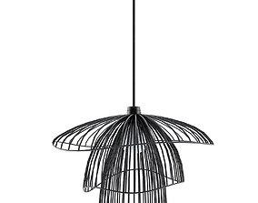 3D PAPILLON Pendant lamp by forester design