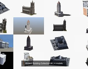 Modern Building Collection 06 3D