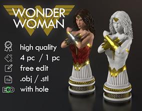 sculptures Wonder woman Bust 3D printable model