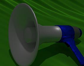 3D asset Megaphone