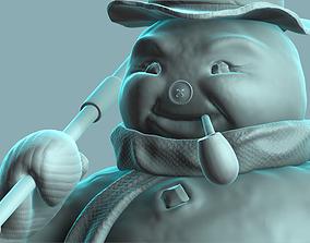 3D print model Frosty The Snowman
