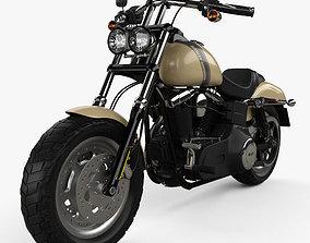 Harley-Davidson Dyna Fat Bob 2016 3D model