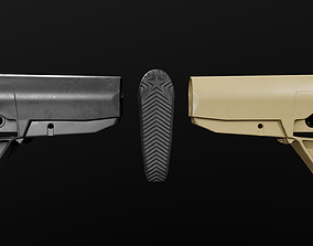 BCMGUNFIGHTER Mod 0 AR15 Collapsible Buttstock 3D model