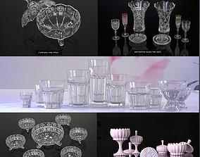 3D model decorative glassware collections designs