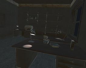 office room 3D asset