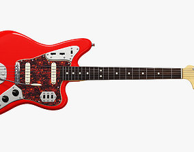 3D model Fender Jaguar Electric Guitar