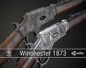PBR Winchester 1873 3D model