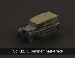 SdKfz 10 3D model