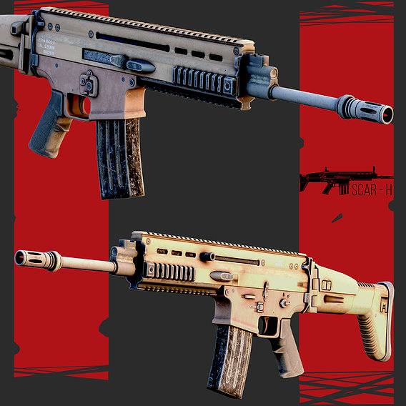 SCAR Gun