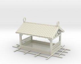 Birdfeeder outdoor 3D print model