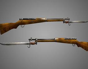 Arisaka Type 99 Rifle Low Poly 3D