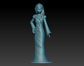 Elsa Elegant Style 3D print model