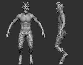 Fantasy Creature Base Mesh 3D print model