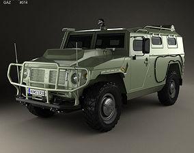3D GAZ Tiger-M 2011