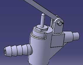 3D print model Pneumatski ventil