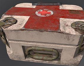 first-aid kit 3D asset