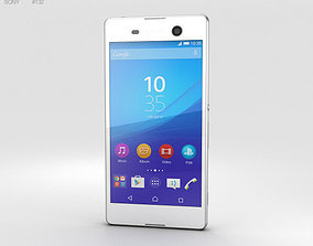 3D model Sony Xperia M5 White