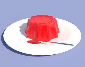 jelly dish 3D model