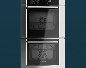 Bosch 300 Series Double Oven 3D model
