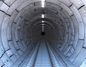 Railway Tunnel 3D model